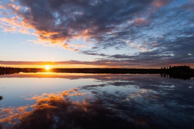 Auringonnousu syksy 2016